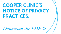 Cooper Clinic's Notice of Privacy Practices. Download the PDF