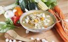 Low Calorie and Healthy Pozole Mexican Hominy Stew Recipe