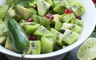 Easy-to-Prepare Sweet, Savory and Spicy Kiwi Salsa Recipe
