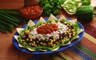 Lightened-Up Classic 7-Layer Mexican Dip to Please a Crowd