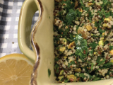 Quinoa Salad with Golden Raisins and Pistachios
