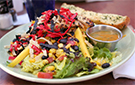 Southwest Chicken Salad with Avocado, Black Beans and Corn Recipe