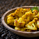 Spiced Cauliflower with Pepper, Cinnamon and Cumin