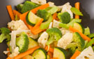 Make-in-Minutes Crunchy Marinated Mixed Vegetables Side Dish