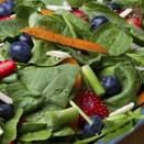 Cancer-Fighting Superfood - Spinach Blueberry Salad
