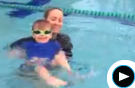 Watch a Children's Swim Lesson with Cooper Swim Professional
