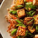 Soy Vay Tofu with Lentils