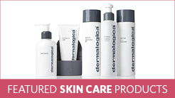 Featured Spa Products - Photo of Dermalogica product bottles
