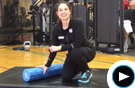 Cooper Fitness Foam Roller Muscle Recovery Technique Video